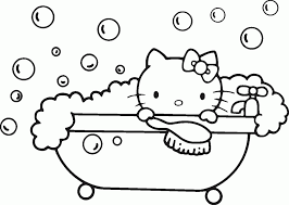 hello kitty printable coloring pages 9