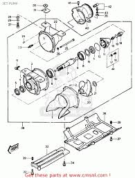 Jet ski engine diagram kawasaki js550 a8 jetski550 1989 united rh diagramchartwiki evinrude jet pump
