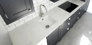 white quartz urban kitchen worktops rock and co large carrera countertops