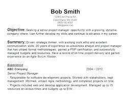 Social Worker Resume Objective Resume Creator Simple Source