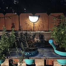 Patio Lighting Solar