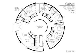 38 best house plans images on pinterest small houses Four Bedroom 3 Bath House Plans 4 bedroom plus study! round floor plan for cob or yurt small enough but has everything four bedroom 3 bath house plans