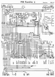 1954 chevy truck turn signal wiring diagram 1954 automotive wiring diagrams of 1958 rambler 6 american