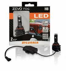 Sylvania Zevo Fog Lights Sylvania 2 Bulbs H8 Zevo Fog Led Fog Lights Bright White Led