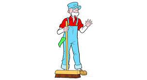 Image result for custodian cartoons
