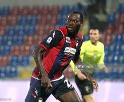 Simeon Tochukwu Nwanko Simy of FC Crotone during the Serie A match... Foto  di attualità - Getty Images