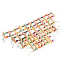 parrot toys cage soft bridge cableway suspension bridge hamster sugar glider suspension bridge toys can t break