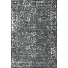 charcoal gray area rug jadide dark grey