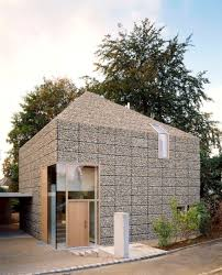 contemporary architecture. The Gabion Makes A Comeback Through Contemporary Architecture 1
