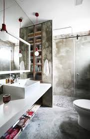 Bold Industrial Bathroom