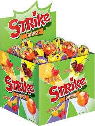 "Конфеты Strike ""<b>Карамель на палочке</b>"", с двойными вкусами, 50 ..."