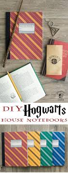 diy hogwarts inspired house notebooks harry potter craft idea  diy hogwarts inspired house notebooks harry potter craft idea diy harry potter harry potter hogwarts and hogwarts