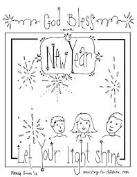 Printable happy new year 2021 coloring pages for kids.free online print out happy new year 2021 coloring sheet for kids. New Year S Coloring Page 2021 Let Your Light Shine Free Printbale Pdf