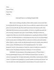 Sample Of Synthesis Essay Sample Synthesis Essay 1 1 Student Name Instructor Name Class