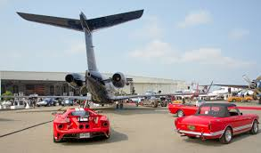 mccall s motorworks revival features food and wine cars and planes santa cruz sentinel