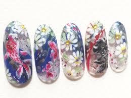 夏ネイル金魚ネイルデザインで涼しく可愛い指先になる
