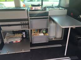 Vw T5 California Beach Ausbau Küche Schrank Spüle Eigenbau