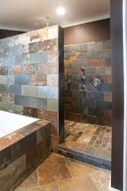 Natural Stone Walk in Shower 682x1024 Walk in Showers Ideas by mandy