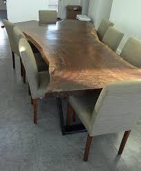 claro walnut dining table modern dining room