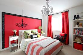 Bedroom Gorgeous White Chinosiere Red Bedroom Including Accent