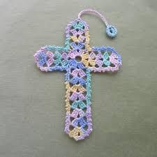 Crochet Cross Pattern Delectable Cross Bookmark Patterns Rainbow Junkie