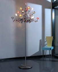 chandelier floor lamp wonderful flowers ideas lovable and antique home lighting models with polished chrome diy chandelier floor lamp