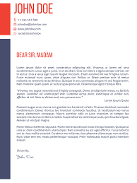 Awesome Collection Of Modern Cv Cover Letter Template Also Job