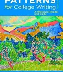 Patterns For College Writing Pdf Mesmerizing Patterns For College Writing PDF Pdf College And Language