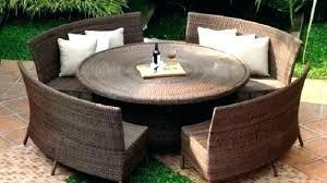 circle outdoor chair outdoor circular seating circular outdoor seating dining furniture metal within idea 3 circular