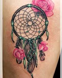 Pics Of Dream Catchers Tattoos Dreamcatcher TattoosRebel Circus 19