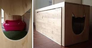 concealed litter box furniture. Customized Cat Litter Box Cover Pets Trends In Hide Ideas Hidden Concealed Furniture