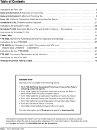 Health Care Tax Credit Chart California Franchise Tax Board Forms Instructions Pdf