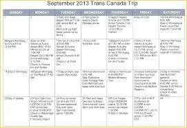 Free Trip Itinerary Planner Customize Itinerary Planner Templates Online Business Travel