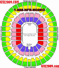 Nfr Seating Chart With Rows National Finals Rodeo Nfr For 2018 2019 2020 Las Vegas