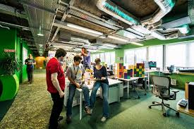 dublin office space. Google Dublin Office Stylish 10 Campus In Camenzind Evolution Designboom. » Space