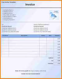 Invoice Template Word 100 free downloadable invoice template word thistulsa 60