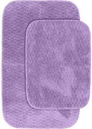 at com garland rugs cabernet nylon 2 piece washable bathroom rug set