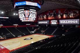 Georgia Makes 2017 Debut In New Home Stegeman Coliseum