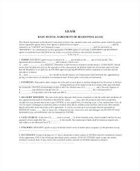 Blank Rental Lease Agreement – Livingaudio