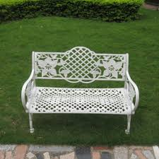white wrought iron garden furniture. cheap white wrought cast iron outdoor table and chair garden furniture