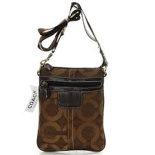 Coach Legacy Swingpack In Signature Small Coffee Crossbody Bags AVJ Sale  Outlet