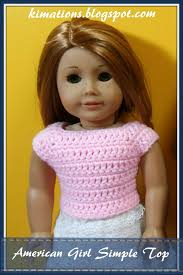 Free Crochet Patterns For American Girl Doll Simple Ideas