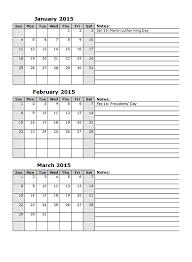 22 12 Month Planner Template 12 Month Calendar Template 2017