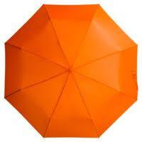 <b>Зонт складной Unit</b> Basic, оранжевый для нанесения логотипа ...