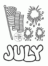 Small Picture Happy 4th Of July Coloring Page For Kids Pages With Coloring Pages