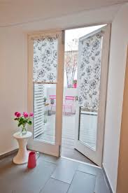 ... Blinds, French Door Blinds Enclosed Blinds For French Doors White  Framed Double Glass Door With ...