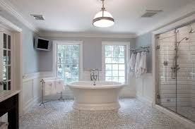 Master Bath Design Ideas cool master bathroom designs in white interior with bathtub applying claw handle faucet furnished with towl