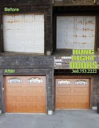 aker garage door37 best Before  After Great Transformations images on Pinterest