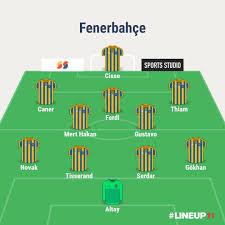 Tek Yol Fener - Fenerbahçe'nin, Başakşehir maçı muhtemel...