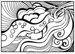 Small Picture Abstract Coloring Pages for Adults Printable Dimensions of